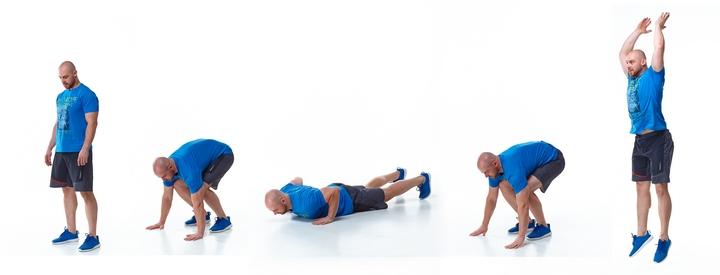 Описание Упражнения«Бёрпи»