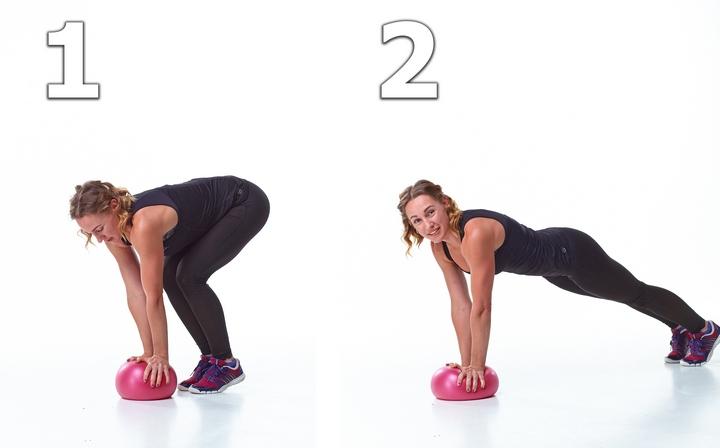 Упражнение с Миниболом